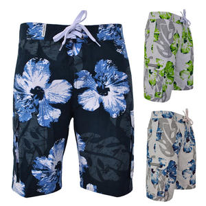 Crosshatch Flowered Floral Print Summer Shorts Mens