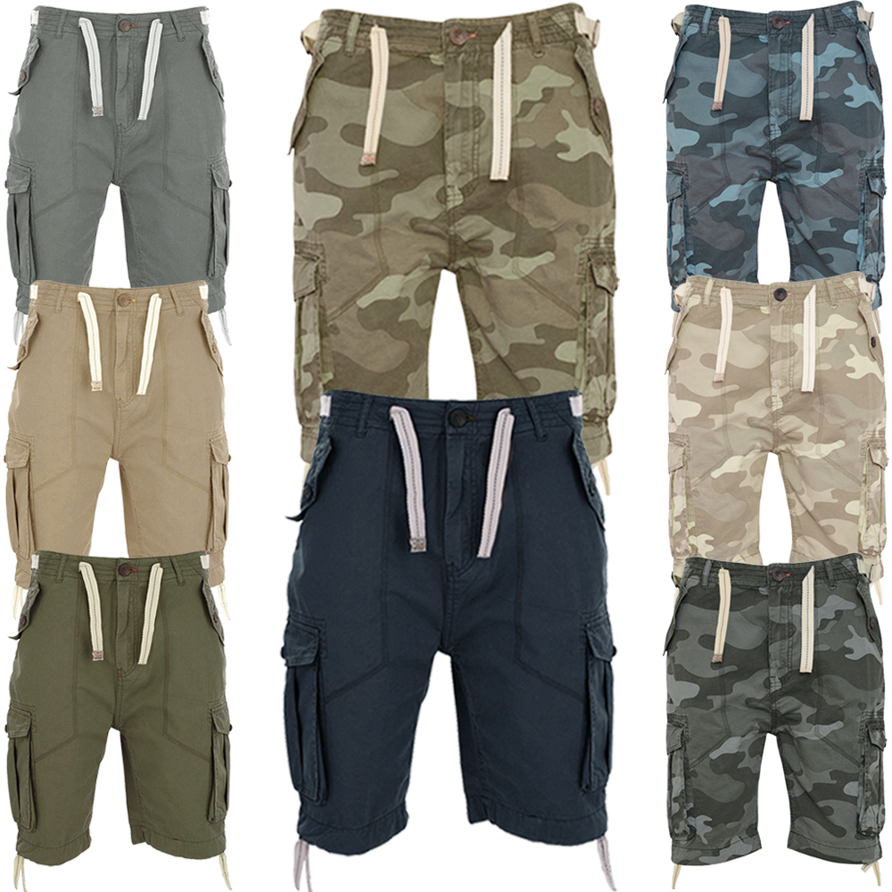 Tokyo Tigers Nebiki Cargo, Combat Army Camouflage Chino Shorts ...