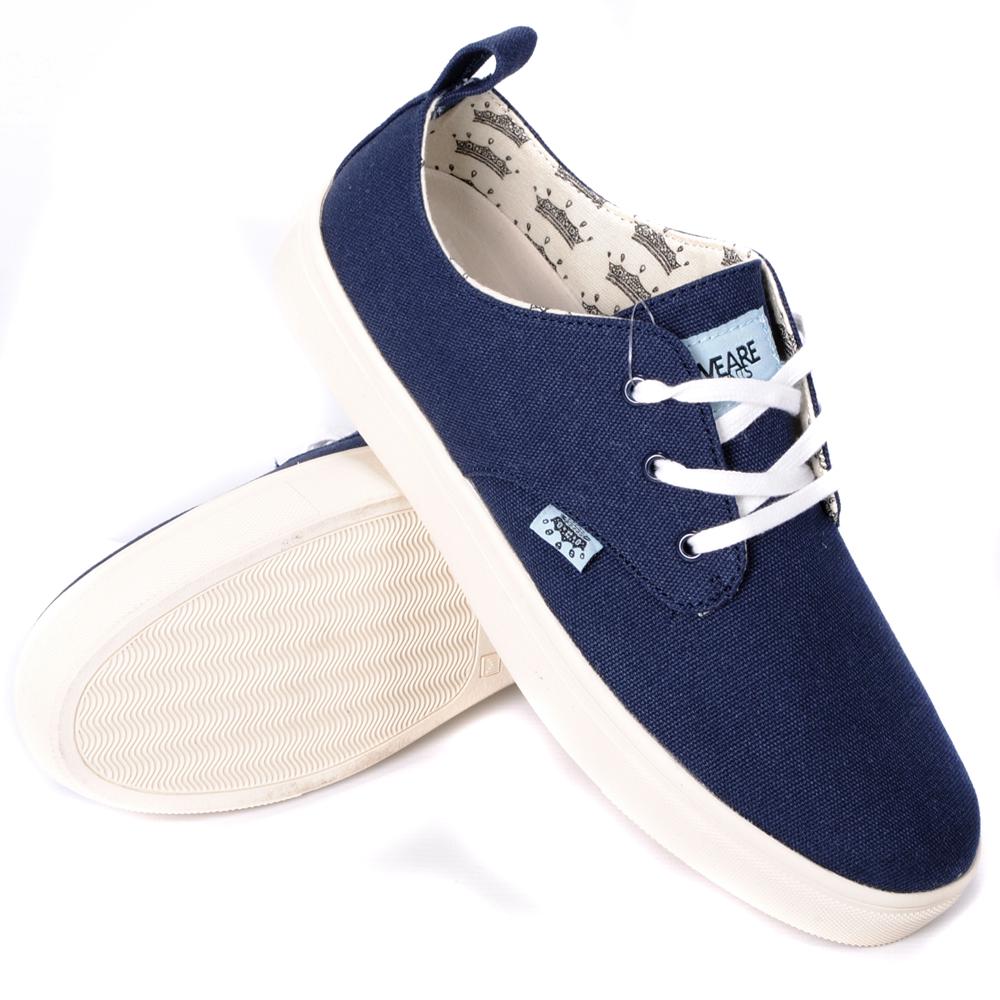 we are saints low canvas trainers shoes mens size uk