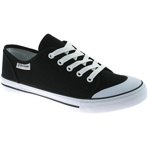 Ladies-Dunlop-Canvas-Lace-Up-Pumps-Plimsolls-Flat-Trainers-Shoes-Womens-Size