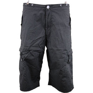Bench Destroy Cargo Knee Length Cargo Shorts Dark Grey Mens Size