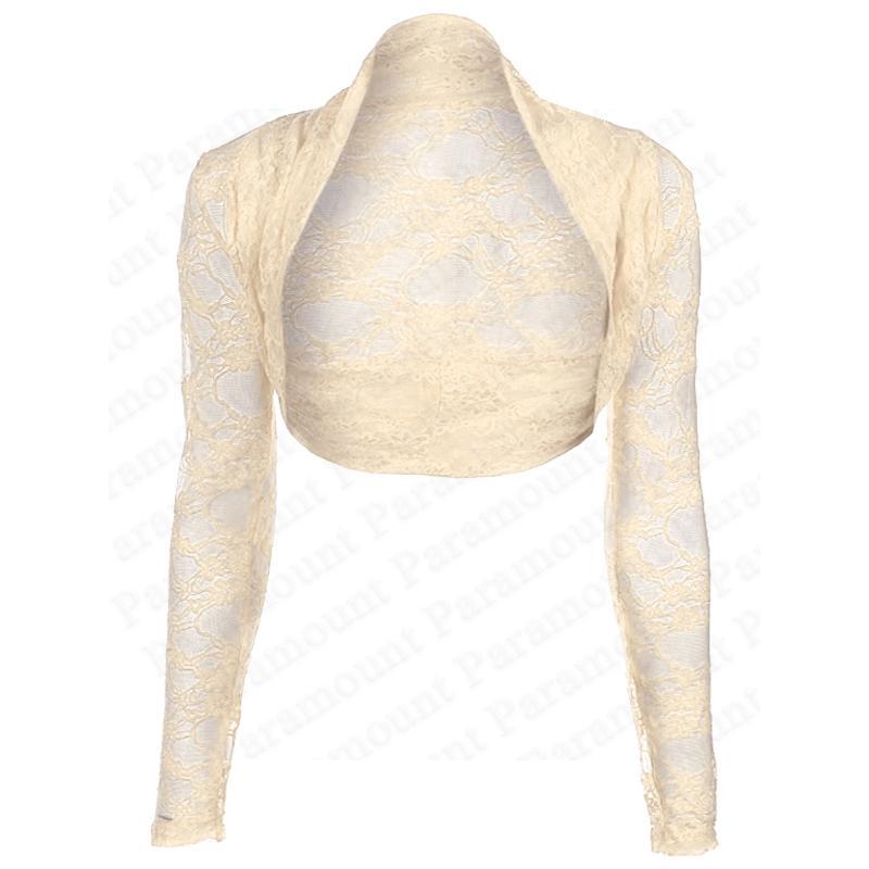 Womens-Lace-Shrug-Bolero-Crop-Cardigan-Top-Ladies-Sizes-8-14