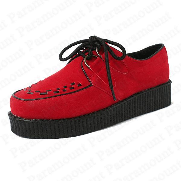 Platform-Heel-Beetle-Crushers-Flat-Plimsoll-Punk-Creeper-Shoes-Women