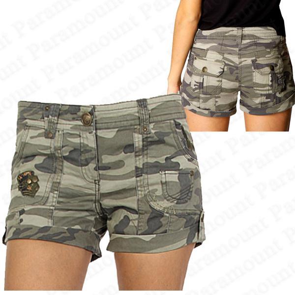 Model LIENZY Khaki Cargo Pants Women Army Green Hip Hop Casual Trousers Mid
