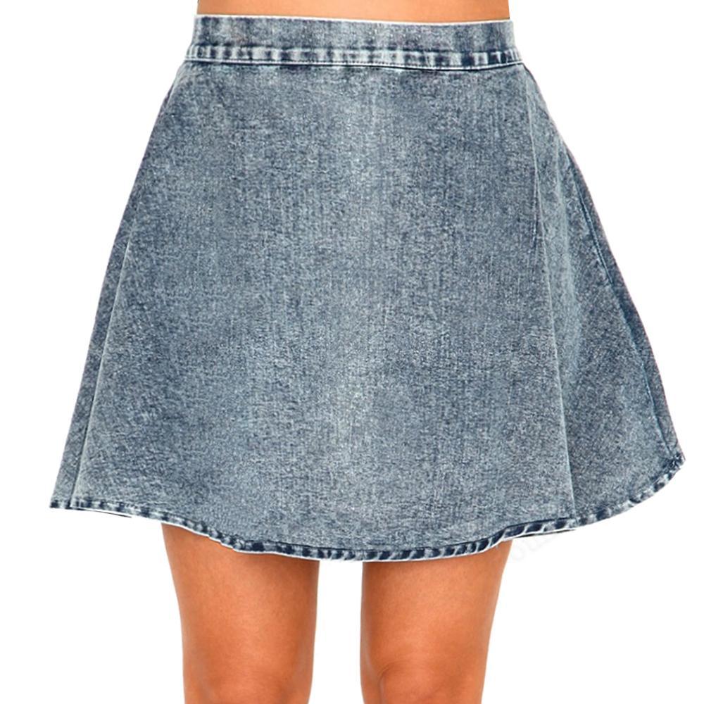 Denim circle skater skirt – Modern skirts blog for you