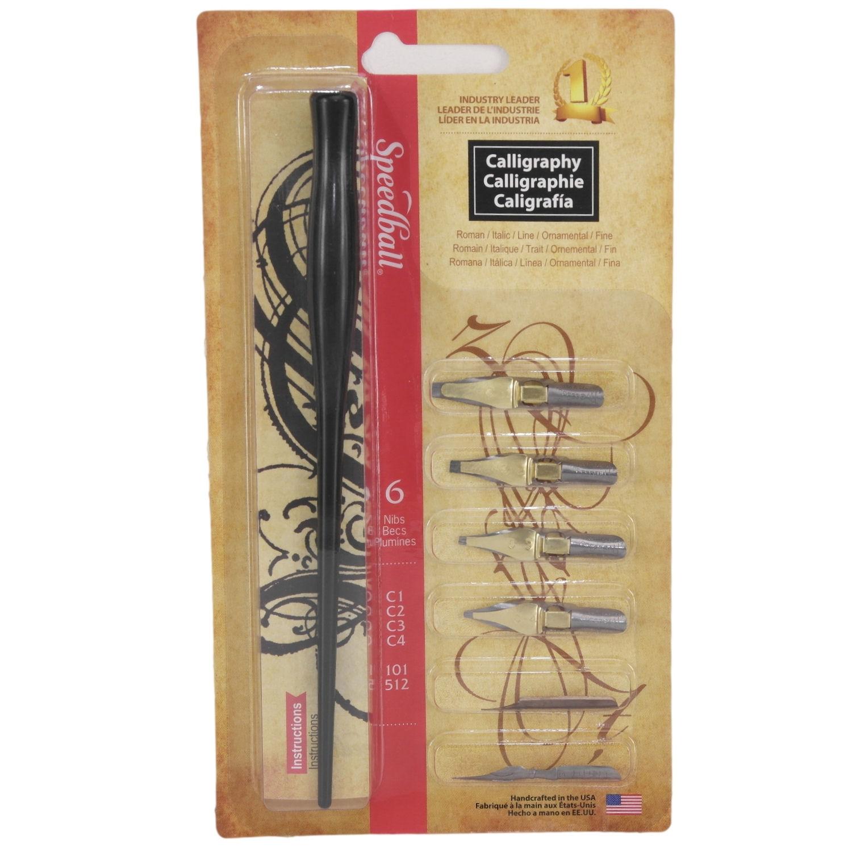 Speedball Calligraphy Dip Pen Lettering Set