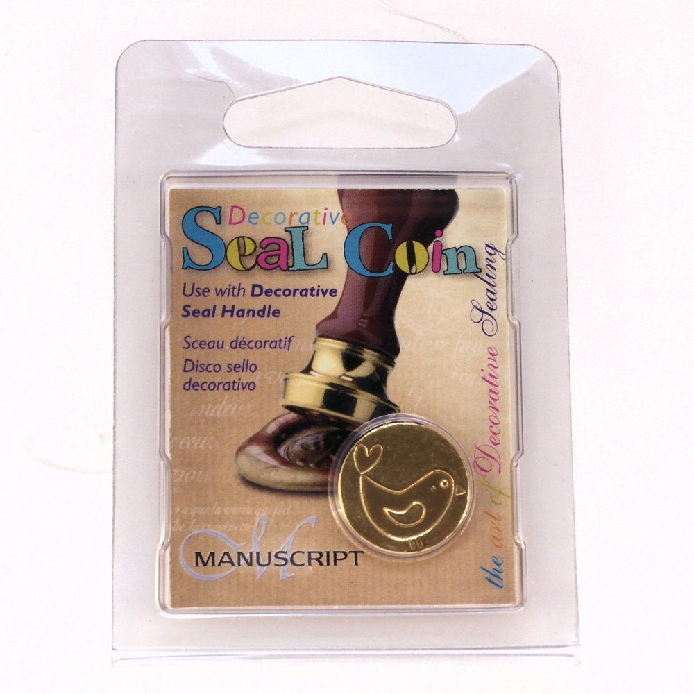 Manuscript decorative wax sealing 18mm coin seals ebay for Decoration wax
