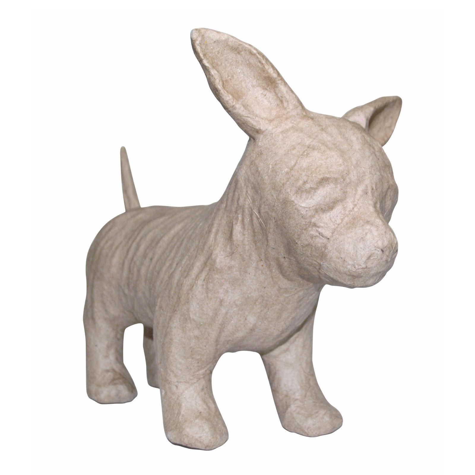 Decopatch sa150 decoupage papier mache animal chihuahua ebay for Decopatch papier