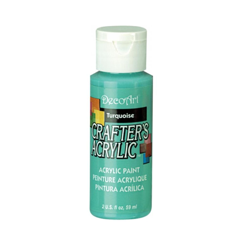 DecoArt Crafter's All Purpose Acrylic Paint 59ml - Green Colours