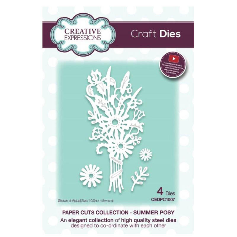 View Item Creative Expressions CEDPC1007 Paper Cuts Craft Die - Summer Posy