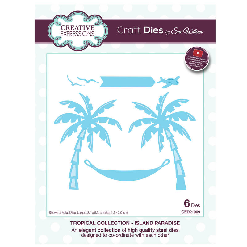 View Item Craft Die CED21009 Sue Wilson Tropical Collection - Island Paradise