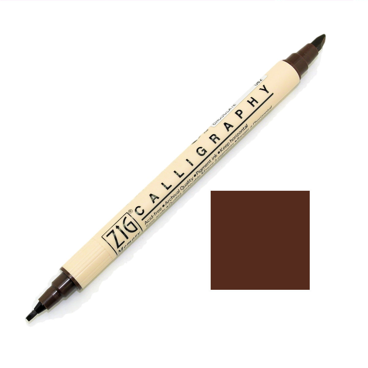 Zig Memory System Calligraphy Marker Pen Browns Ebay