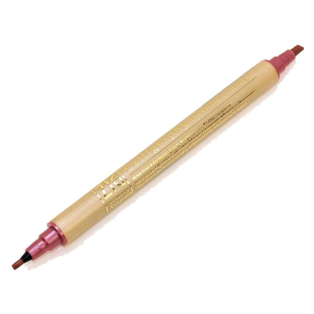 Zig memory system calligraphy marker pen metallic