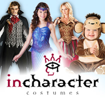 Incharacter Fancy Dress Costumes
