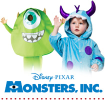 Monsters INC Fancy Dress Costumes