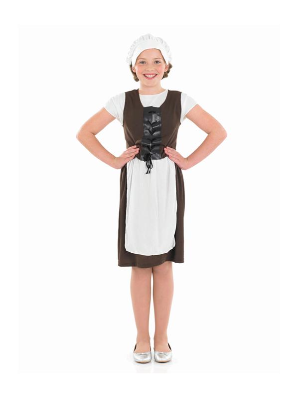 Girl's Tudor Maid Outfit