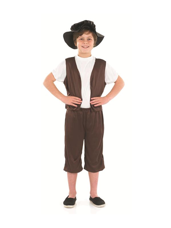 FDF_2494 (2) child tudor boy fancy dress costume pauper street urchin kids poor,Childrens Clothes In Tudor Times
