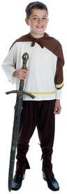 View Item Child Age 10-12 Years Norse Viking Hero Fancy Dress Costume Medieval Kids Boys