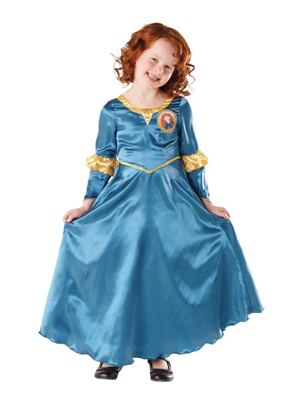 child classic princess merida brave fancy dress costume girls disney pixar movie ebay. Black Bedroom Furniture Sets. Home Design Ideas
