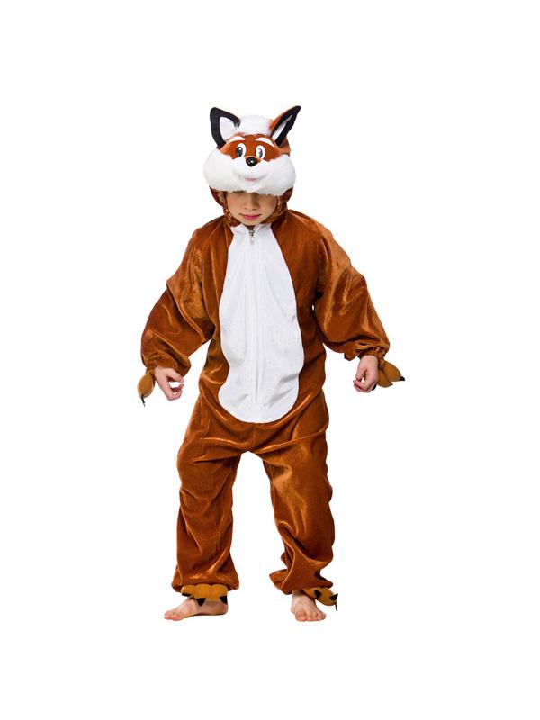 Boy's Fantastic Mr Fox Jumpsuit Costume