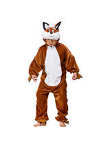 View Item Child Boys Girls Fantastic Mr Fox Fancy Dress Costume Kids New Outfit Book Week