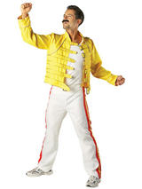 Freddie Mercury Queen Men's Costume