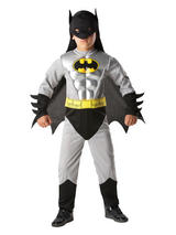 Batman Grey Muscle Boy's costume