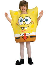 View Item Child Boys Licensed Spongebob Squarepants Fancy Dress Costume