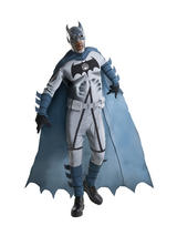 View Item Adult Licensed Zombie Batman Fancy Dress Costume Halloween Blackest Dark Knight