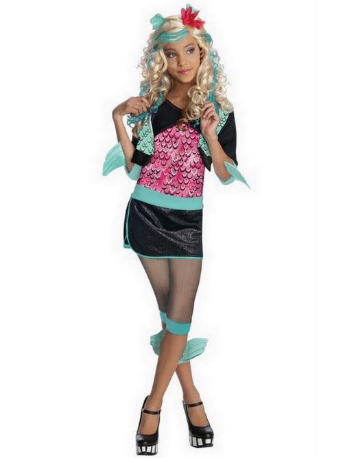 View Item Monster High Lagoona Blue Girl's Costume