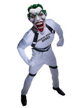View Item Adult Batman The Joker Straight Jacket Fancy Dress Costume Halloween Dark Knight