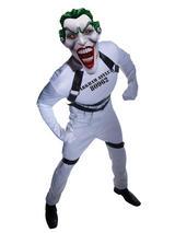 View Item Deluxe Joker Straight Jacket Batman Villian Mens Fancy Dress Halloween Costume