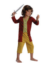 View Item Child 3-4 Years Licensed The Hobbit Bilbo Baggins Set Fancy Dress Costume Kids