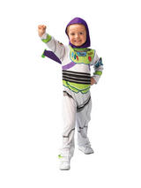View Item Child Licensed Buzz Lightyear Toy Story Outfit New Fancy Dress Costume Kids Boys