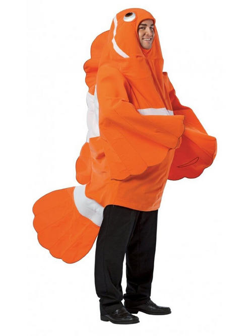 Plymouth fancy dress for Fish costume men
