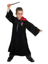 View Item Child Licensed Harry Potter School Robe Fancy Dress Costume Kids Boys girls