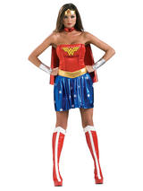 Wonder Woman Ladies Sexy Full Costume