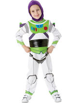 View Item Child Licensed Deluxe Toy Story Buzz Lightyear Party Outfit Fancy Dress Costume