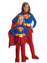 Supergirl Girl's And Toddler Costume