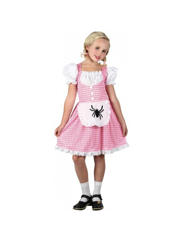 Girl's Storybook Miss Muffet Costume