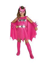 Batgirl Pink Girl's Costume