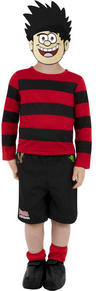 View Item Boys Child Dennis The Menace Fancy Dress Costume Beano Kids Comic Book Week