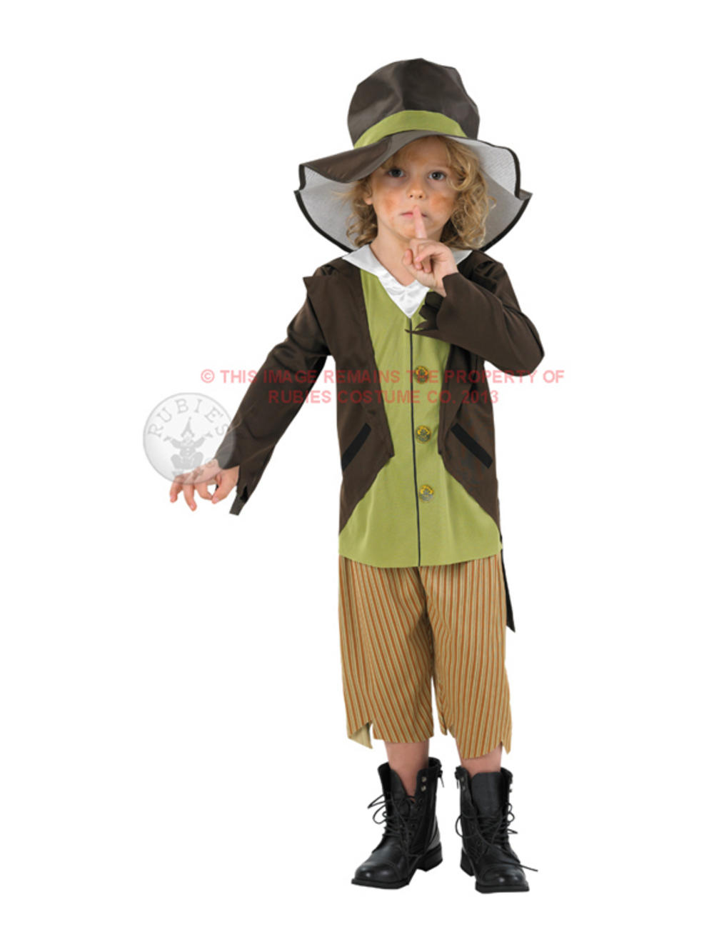 Child Victorian Pickpocket Poor Boy Oliver Twist Urchin