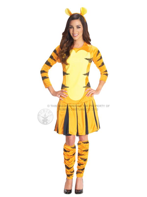 3a4282bbe8d5 Adult Disney Miss Tigger Fancy Dress Costume Winnie the Pooh Tiger ...