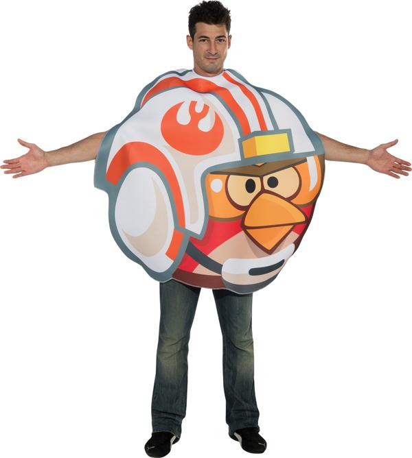 Star Wars Luke Fighter Angry Bird Men's Costume