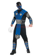 Mortal Kombat Sub Zero Men's Costume
