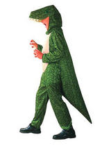 View Item Child Dinosaur Fancy Dress Costume Book Week Animal Alligator Crocodile Kids