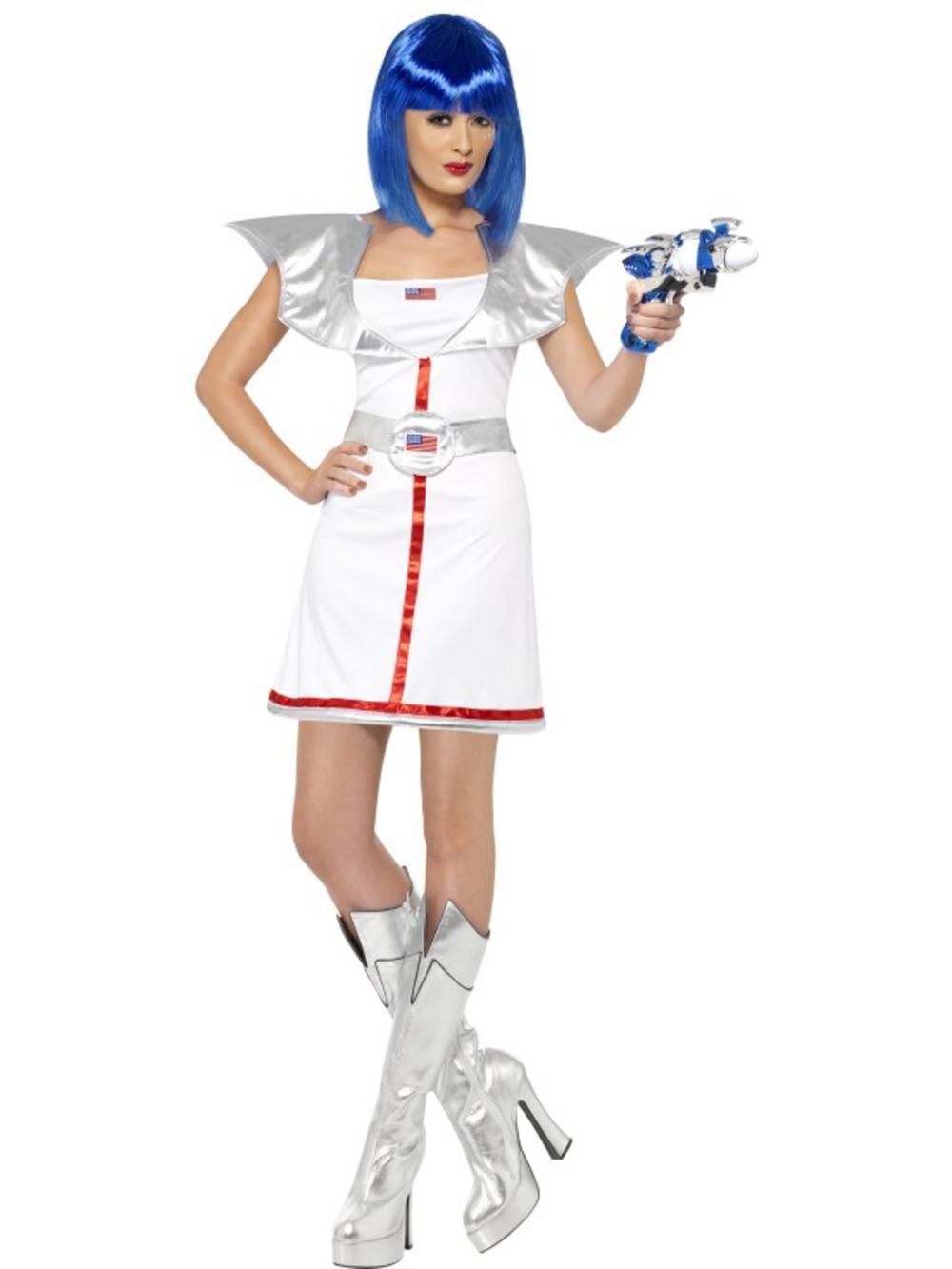 products multi adult sexy space woman cadet alien fancy dress costume ladies womens female