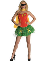 Robin Corset And Tutu Ladies Costume