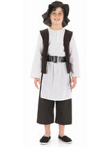 Boy's Tudor Kitchen Hand Book Week Outfit